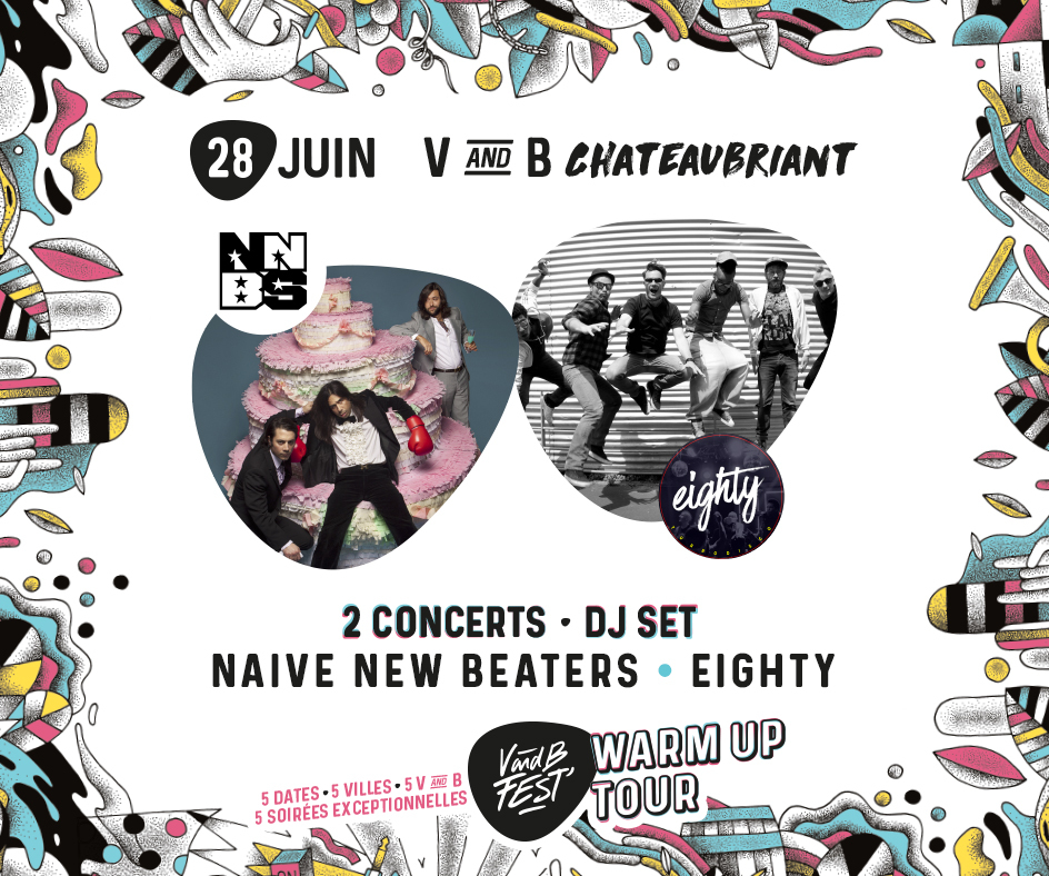 Warm up V and B Fest' - Chateaubriant