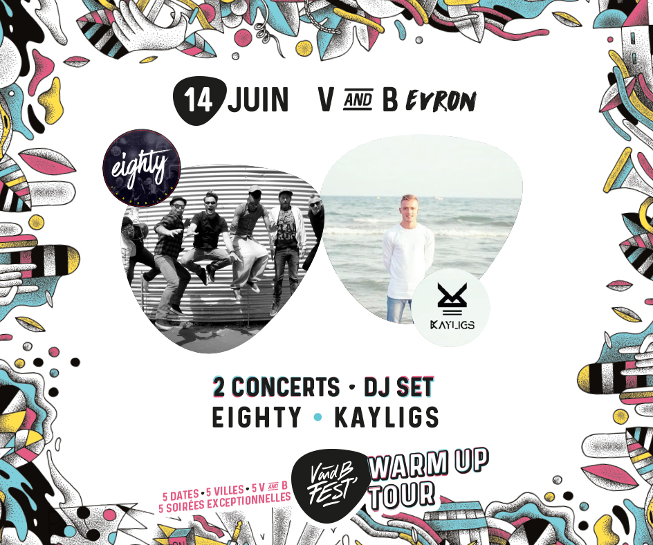 Warm up V and B Fest' - Evron