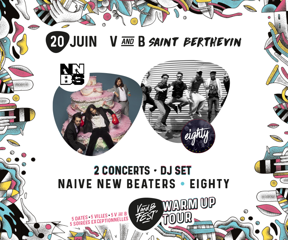 Warm up V and B Fest' - St Berthevin